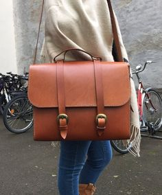Handmade travel / weekend / laptop bag - Beautifully handcrafted in South African leather - Unisex, men, women, male, female