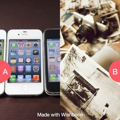 What would you grab first in a fire: gadgets or memories? Click here to vote @ http://getwishboneapp.com/share/732309