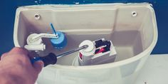 Toilet fill valve is one of the most common things you need to fix in your bathroom. Here is how to change toilet fill valve. Leaking Toilet, Leaking Pipe, Kohler Toilet, Flush Toilet, Toilet Repair, Plumbing Emergency, Plumbing Problems, Diy Pool, Ppr