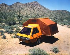 Robert Q. Riley - Phoenix; a compact van that converts to a tent-style motorhome, late 1980s.