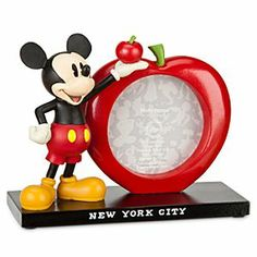 Disney Mickey Mouse Picture Frame - New York | Disney StoreMickey Mouse Picture Frame - New York - Mickey beholds The Big Apple for this fully-sculptured souvenir desk frame celebrating your unforgettable visit to New York City! Holds one 3'' x 3'' photo.