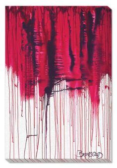 """David Bromstad """"Broken Heart"""" Artwork"""