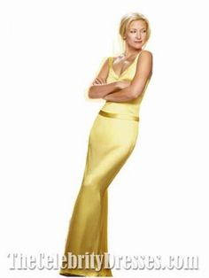 Kate Hudson Yellow Evening Dress - Do i dare?!