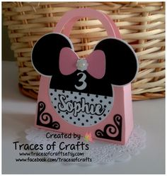 Minnie Party Favour, Birthday Favor Personalized (Set of 10) , Baby Shower Favor, Purse Favor Box, Personalized Favor,  Birthday Girl - pinned by pin4etsy.com Paper Cake, Cupcake Wrappers, Personalized Favors, Birthday Party Favors, Favor Boxes, Baby Shower Favors, Girl Birthday, Create, Purse