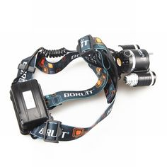 6000LM 3x CREE XM-L U2 LED Headlamp Headlight Head Light Lamp Torch + Charger