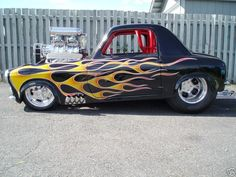 Crazy Aronde '53 Blown V8