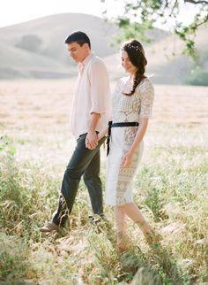 Ruxandra and Scott Los Olivos Engagement