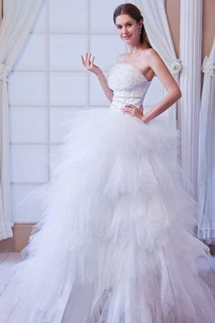 Tulle Wedding Gown, White Wedding Gowns, Wedding Dresses 2014, Tulle Ball Gown, Cheap Wedding Dress, Ball Gowns, Bridesmaid Dresses, Prom Dresses, Formal Dresses