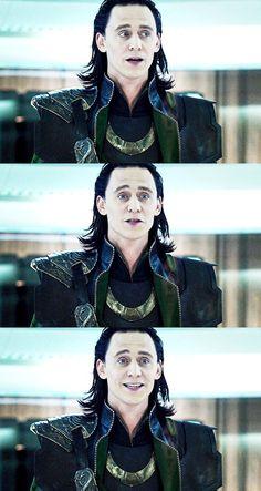 "Tom Hiddeston ""Loki"" Stills from ""The Avengers"" From http://hiddleston-daily.tumblr.com/post/84046925787"