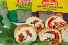 PANELATERAPIA - Blog de Culinária, Gastronomia e Receitas: Rolinhos de Frango ao Forno