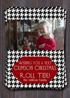 @Kristina Brooks  Made me think of you!  University of Alabama Christmas or Holiday by sullivandigidesigns, $12.00