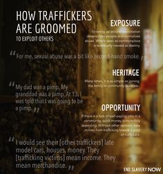 How someone becomes a trafficker
