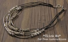 Quicksilver necklace tutorial