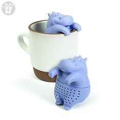 GAMAGO Hippo Tea Infuser, Purple (*Amazon Partner-Link)
