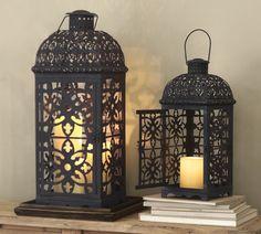 Pottery Barn - Mallory Pierced Lanterns