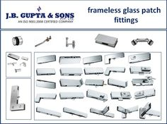 Get the wide range of hardware options for glass patch fittings which are of most popular brand and available in reasonable price. website :- http://www.jbghardware.com/glass-fittings/patch-fittings/