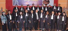 Sidang Terbuka Pelantikan dan Penyumpahan Advokat Indonesia PERADIN Angkatan Pertama dan Kedua Surabaya 26 April 2012.