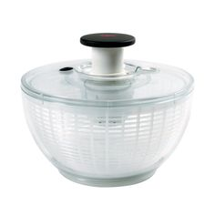 Salad Spinner - so need one of these.  Great at removing excess water after rinsing your salad