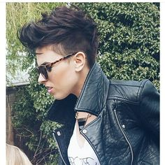 Since my hair was cut too short, I am going to do this to improve this mess.