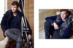 Massimo Dutti Apres Ski Autumn/Winter 2014 Advertising Campaign   FashionBeans.com