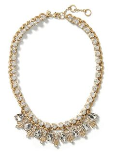 Ribbon Sparkle Necklace | Banana Republic