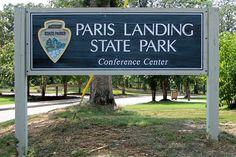 Paris Landing State Resort park on the TN River