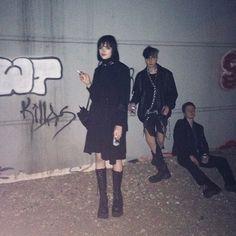 goth Rebel Goth Punk Black Aesthetic Emo Grunge Irreverent Gothic H