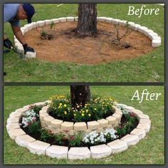 Best DIY Yard ideas here http://kitchenfunwithmy3sons.com/2016/03/the-best-garden-ideas-and-diy-yard-projects.html/ #decoraciondejardines