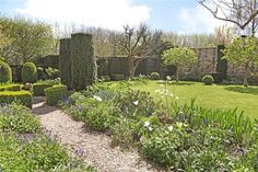 The beautiful gardens at The Old Cottage