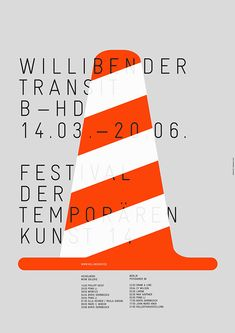 Welcome! | gggrafik.de | Götz Gramlich Transit2014 Poster for contemporary arts…