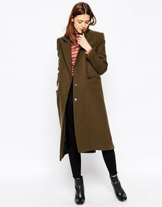 Petite Toffee Belted Coat
