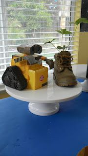 Wall E themed Birthday party (little boys)