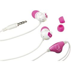 Hello Kitty Earbuds With In-line Volume Control – USMART NY