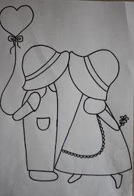 Sunbonnet Sue Quilt and Applique Templates, Applique Patterns, Applique Quilts, Embroidery Applique, Quilt Patterns, Sewing Patterns, Sunbonnet Sue, Boy Quilts, Girls Quilts