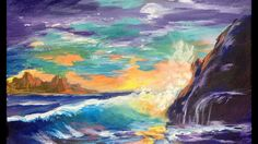 Painters Cove - An Introduction to Wave and Water for Beginning Acrylic ...
