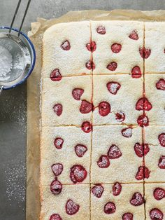 Raspberry-Buttermilk Sheet Cake