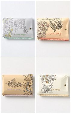 lovely scented soap packaging