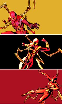 Mary Jane Watson as the Iron Spider