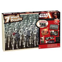 Star Wars 7pk Wood Puzzle