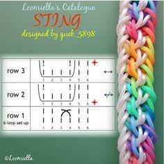rainbow loom diagrams basic wiring diagram u2022 rh rnetcomputer co Minion Rainbow Loom Pattern Zipline Rainbow Loom Bracelet