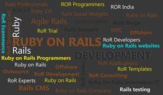 Ruby on Rails often called as Rails or RoR, Ruby on Rails is an open source web application framework for ruby language. Ruby on rails runs on the general programming language Ruby.