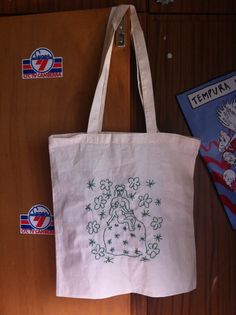 Drawing by Henri Matisse Green embroidery on cotton bag 45 x 38 cm Henri Matisse, Cotton Bag, Reusable Tote Bags, Buy And Sell, Embroidery, Drawings, Handmade, Stuff To Buy, Etsy