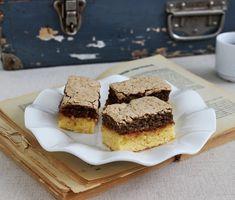 Egy finom Diós-habos lekváros sütemény (Londoni szelet) ebédre vagy vacsorára? Diós-habos lekváros sütemény (Londoni szelet) Receptek a Mindmegette.hu Recept gyűjteményében! European Cuisine, Hungarian Recipes, Hungarian Food, Sweet Cakes, Cake Cookies, Tiramisu, Biscuits, Food And Drink, Yummy Food