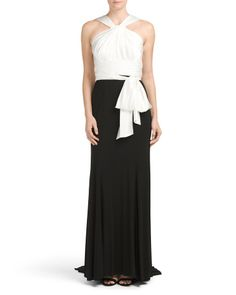 Colorblock Gown from T.J. Maxx