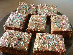 Pätkis-Mokkapalat Finnish Recipes, Cake Bars, Sweet Pie, Sweet Tooth, Sweet Treats, Deserts, Dessert Recipes, Baking, Breakfast