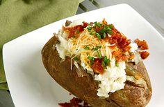 Bacon Blue Cheese Potato