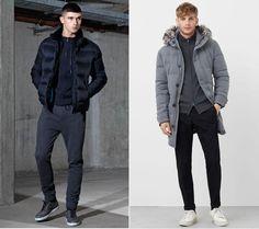 Zip-up Track Top Autumn Fashion, Men's Fashion, Warm Outfits, Zip Ups, Fall Winter, Track, Winter Jackets, Tops, Moda Masculina