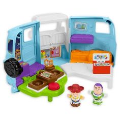 Check out the Disney Pixar Toy Story 4 Jessie's Campground Adventure playset Explore all our Little People toddler toys at the Fisher-Price shop today! Disney Pixar, Disney Toys, Disney Stuff, Fisher Price Toys, Baby Invitations, Buy Buy Baby, Amazing Adventures, Imaginative Play, Creative Thinking