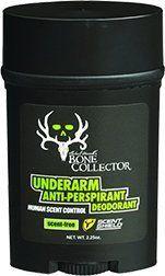 Scent Shield Men's Bone Collector Antiperspirant/Deodorant (Black, 2.25-Ounce) Scent Shield