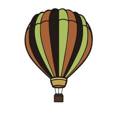 Free SVG File Download – Hot Air Balloon